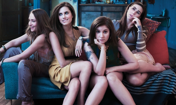 The cast of Girls on HBO